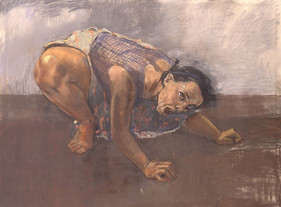 paula rego dog woman