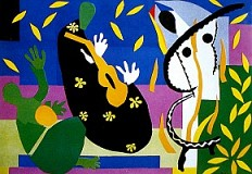 Henri Matisse. The cut-outs. Tate Modern de Londres.