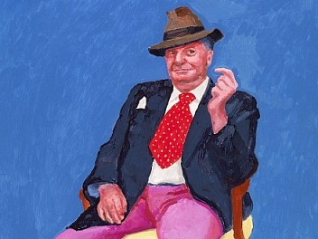 David Hockney and the human comedy