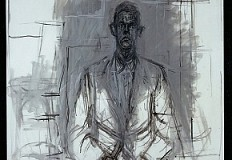 Retrato de Giacometti por James Lord.