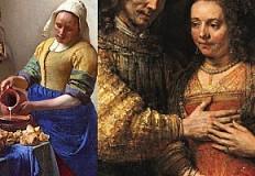 Rembrandt versus Vermeer