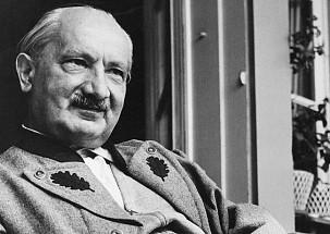 Martin Heidegger. Arrojados al mundo y a la muerte