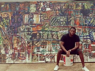 El potente arte de Aboudia encabeza una nueva ola de interés por el arte africano