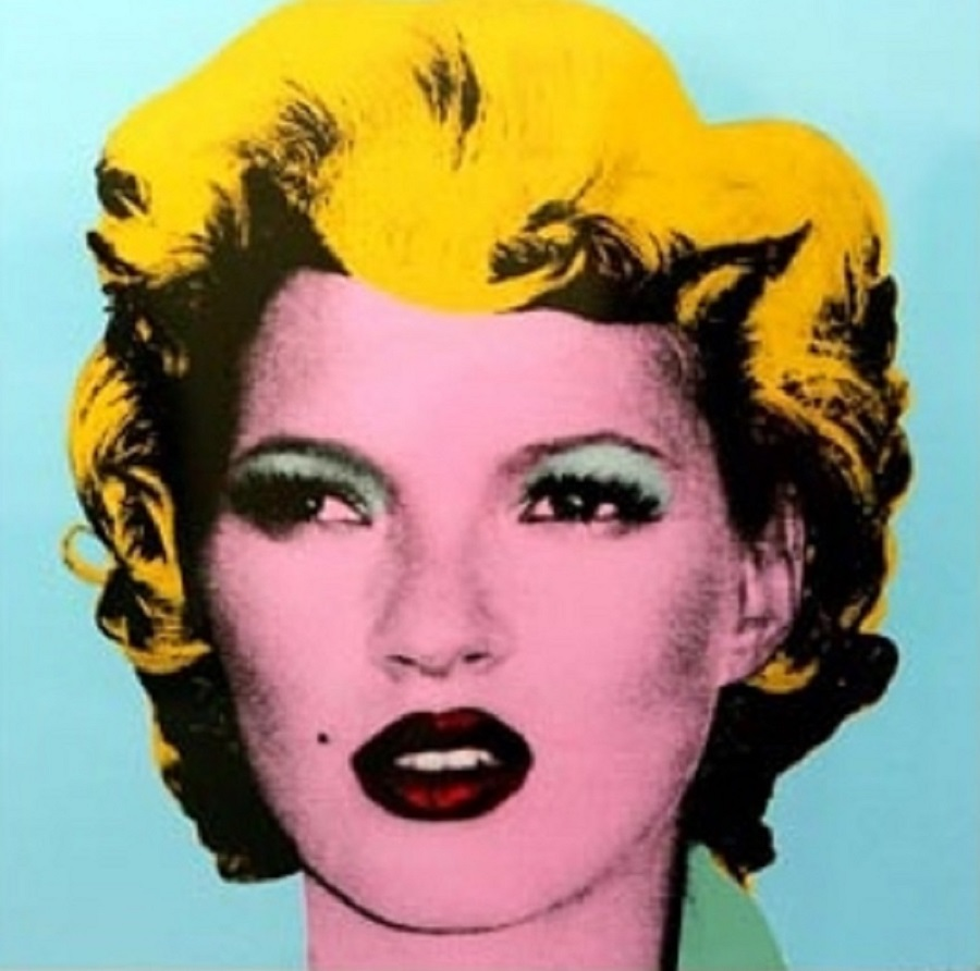 Marilyn by Banksy KATE MOSS