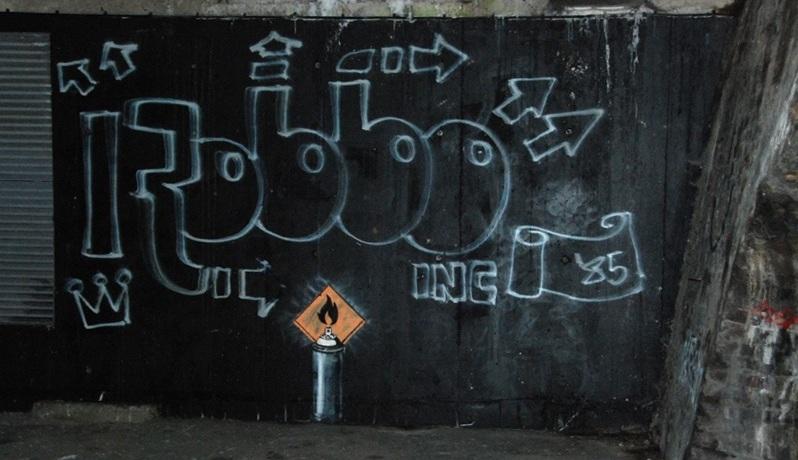 Tributo a Robbo por Banksy