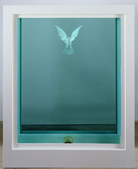 10 ART HK 10. White Cube. Damien Hirst The Inescapable Truth 2005