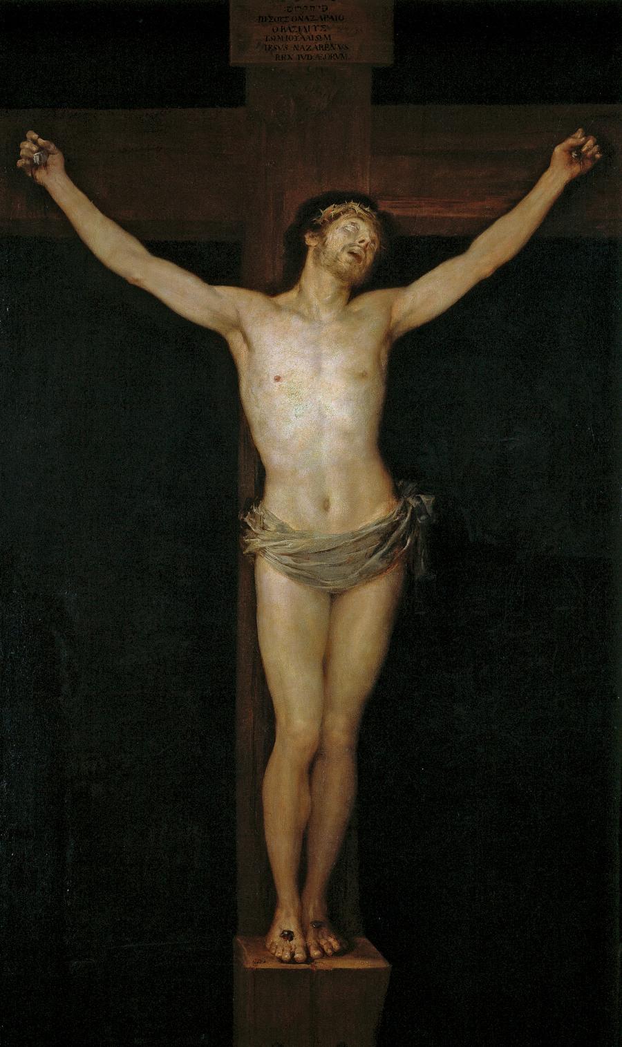 05. Cristo en la cruz Goya