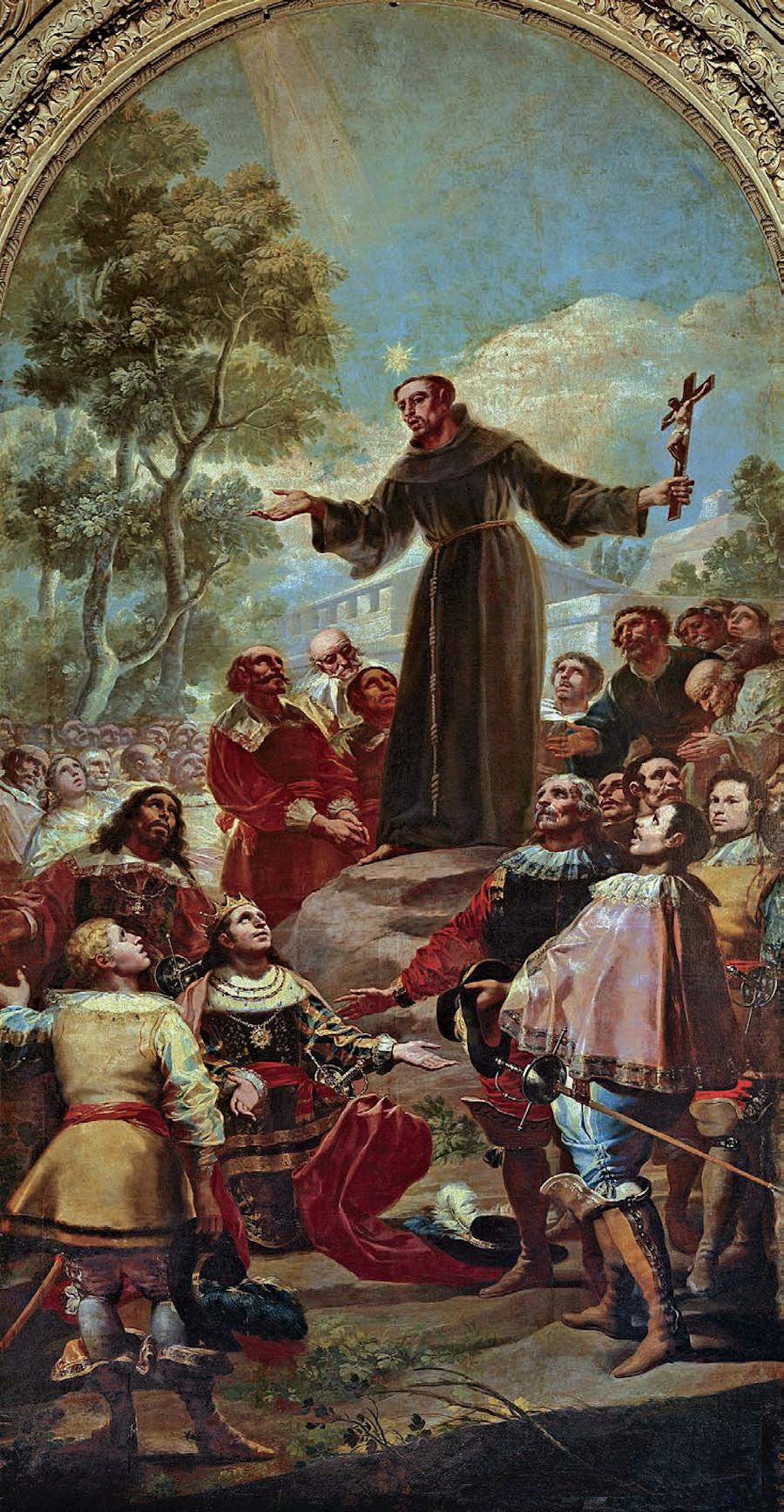 06. San Bernardino de Siena Goya