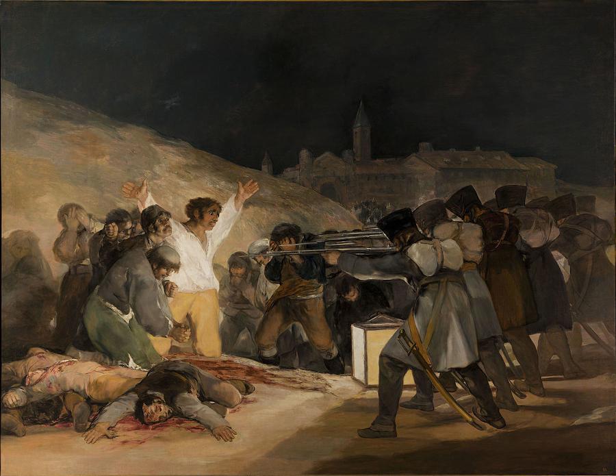 09. El Tres de Mayoby Francisco de Goya