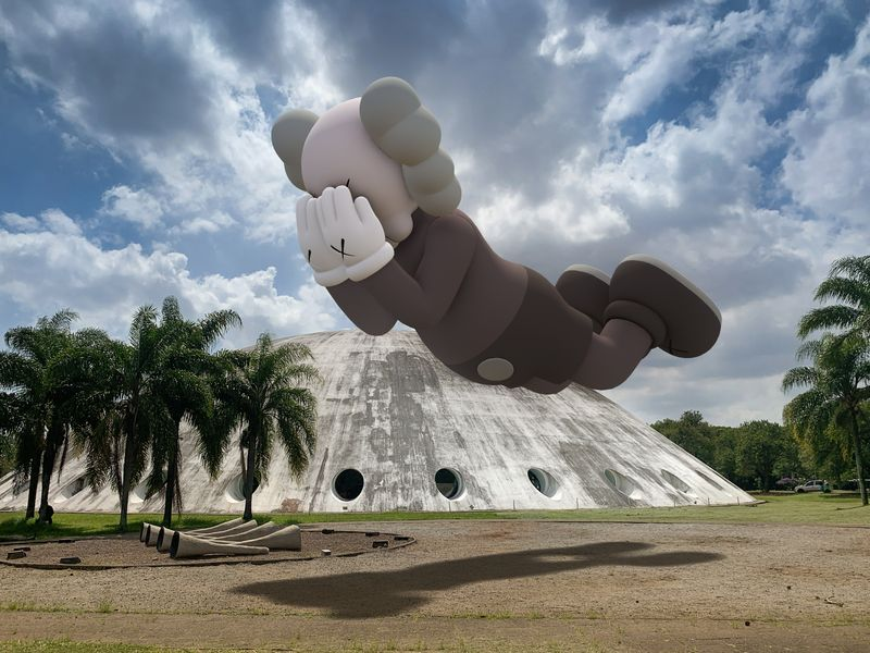 09. KAWS COMPANION EXPANDED in Sao Paulo 2020 augmented reality
