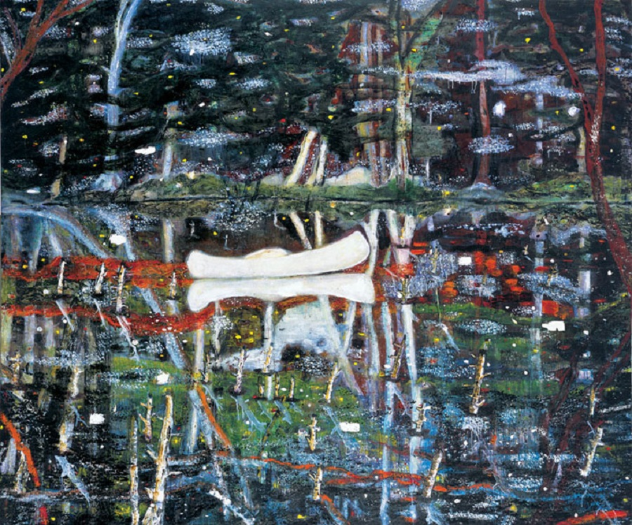 Peter Doig- White Canoe