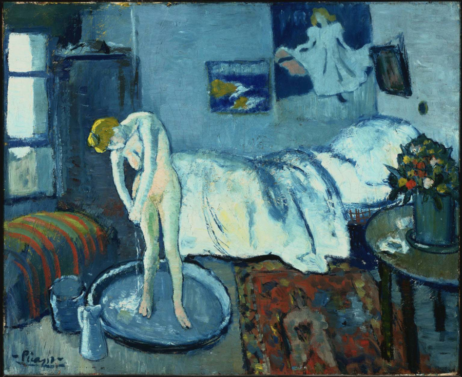 Picassos Blue Room 1901