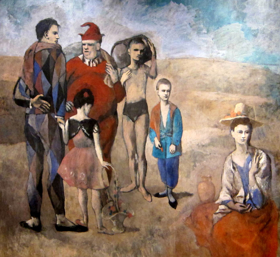 picasso family of Saltimbanques wikipedia