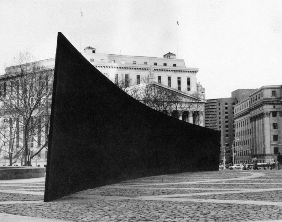 Richard Serra Obras Arco inclinado Tilted Arc