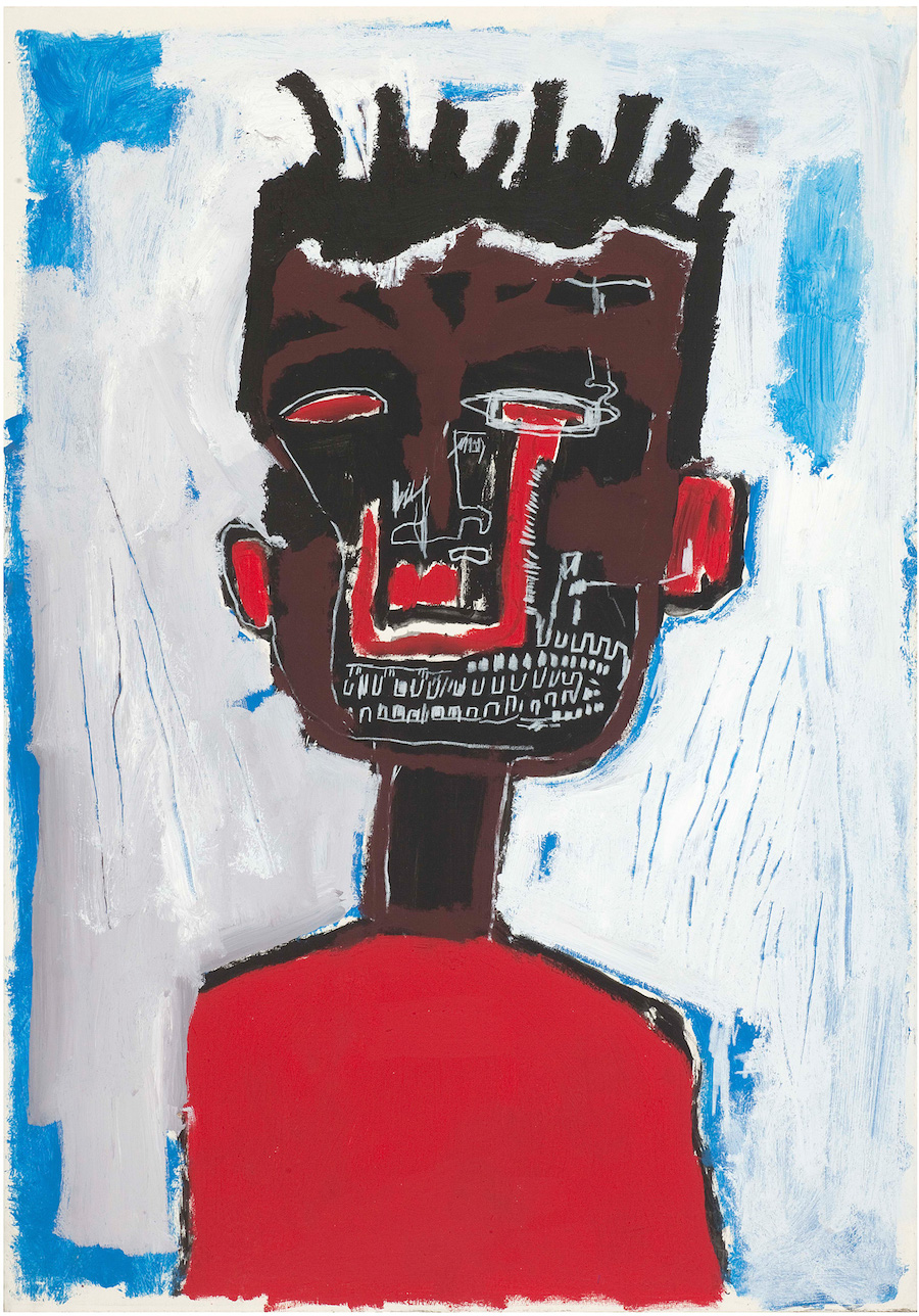 1 Jean-Michel-Basquiat-SELF-PORTRAIT-HARLAP-Zoom