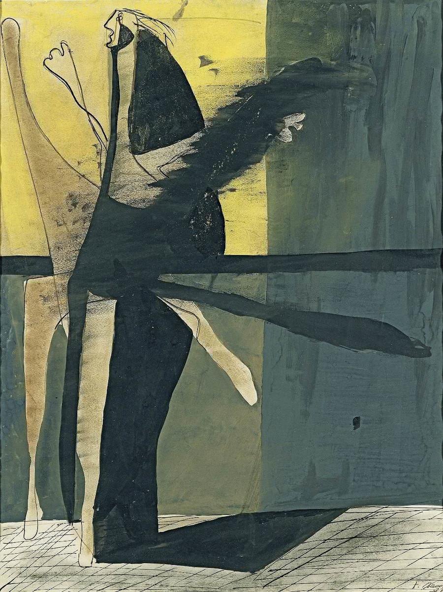 04. Francis Bacon Composicion 1933