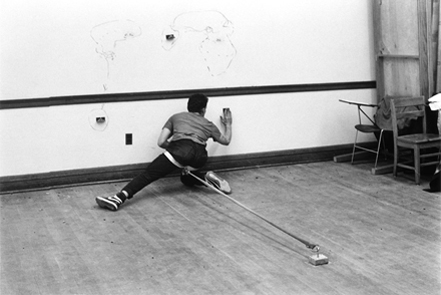 3 1989 Drawing restraint 5 Photo Michael Rees