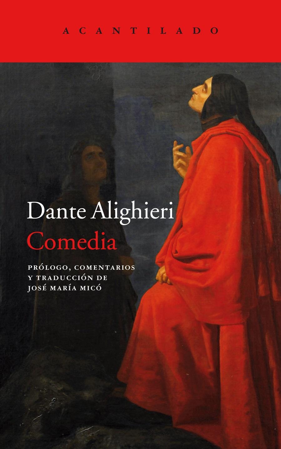 COMEDIA Dante cubierta