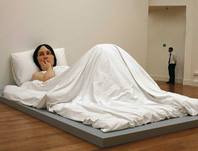 Ron Mueck Lady Cartier Foundation