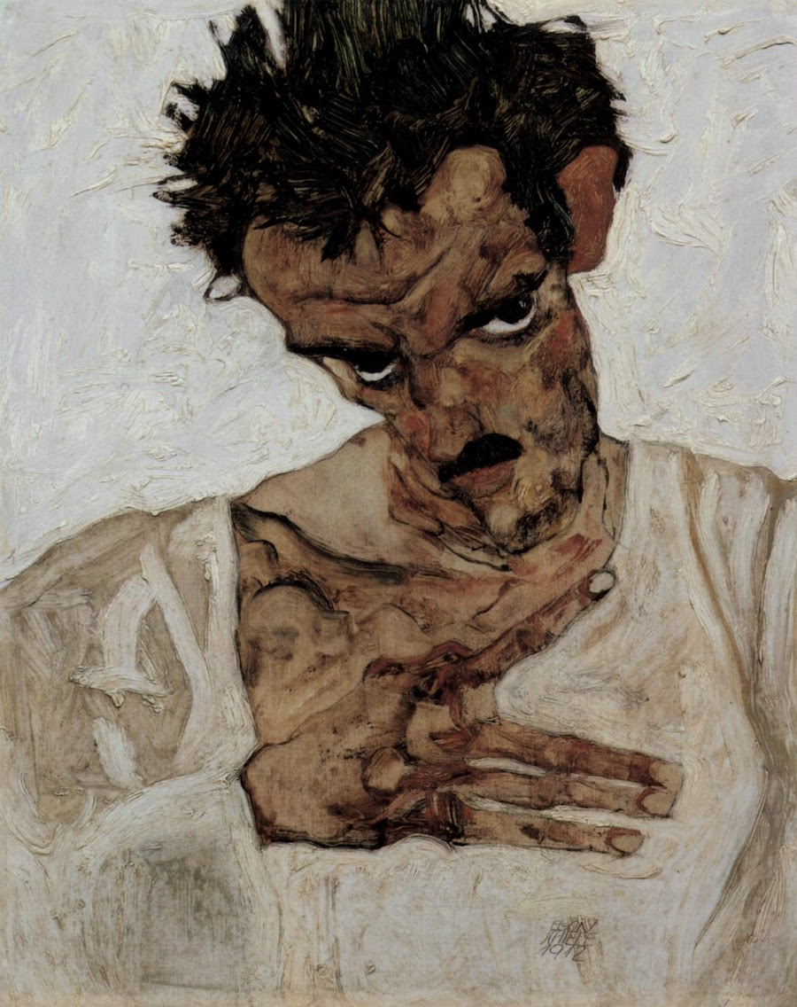 Observed in a Dream Artist Egon Schiele Art Poster