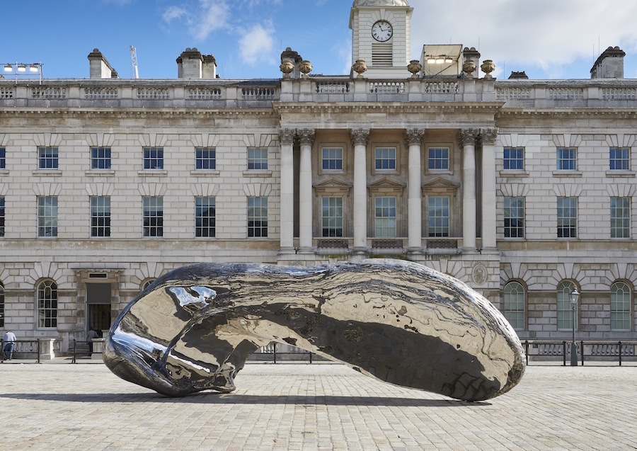 Marc Quinn: Frozen Waves, Broken Sublimes. Somerset House