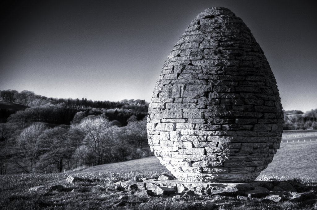 AndyGoldsworthy Stone Cone