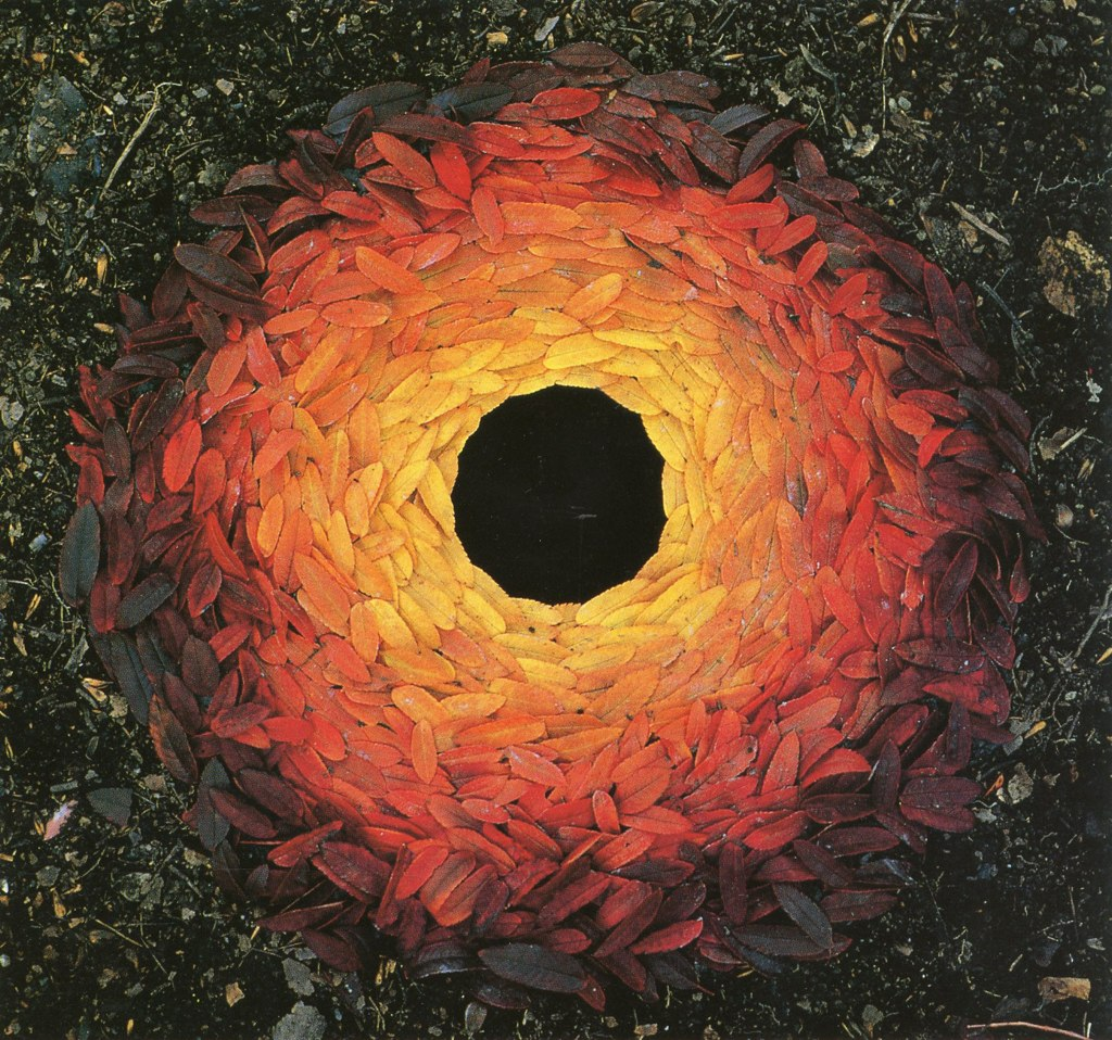 Leaves by Andy Goldsworthy