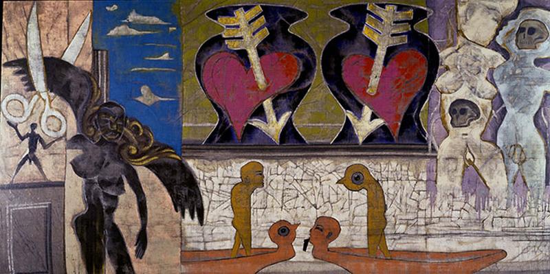 """""""Iniziazione, La Stanza della Madre / Initiation, Mother's Room,"""" Francesco Clemente"""