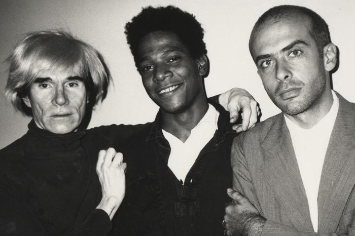 Andy Warhol, Jean-Michel Basquiat & Francesco Clemente