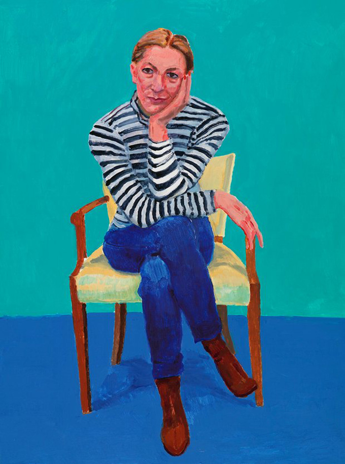 David Hockney - Edith Devaney