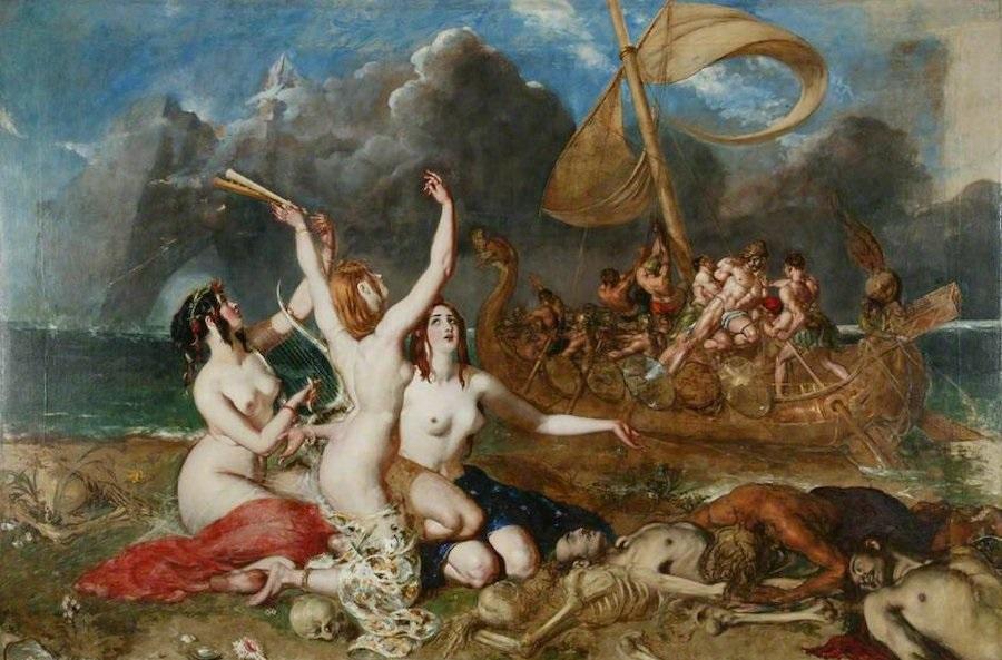 Las sirenas y Ulises