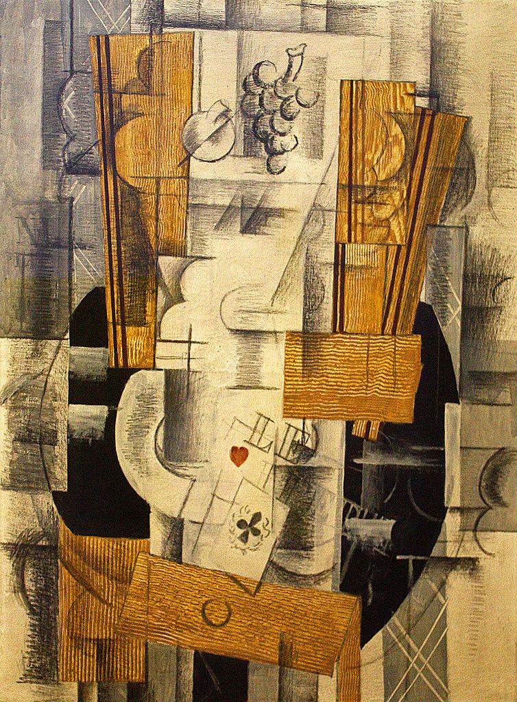 Georges Braque Compotier et cartes