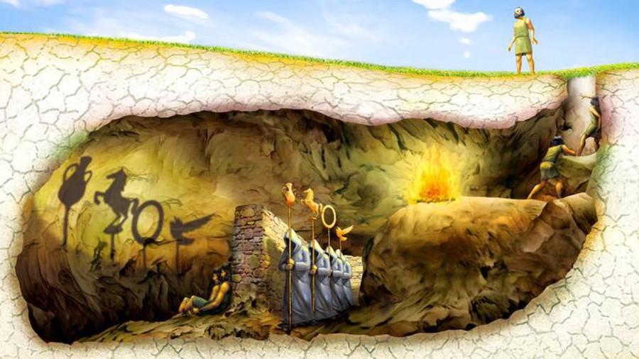 mito caverna platon wide