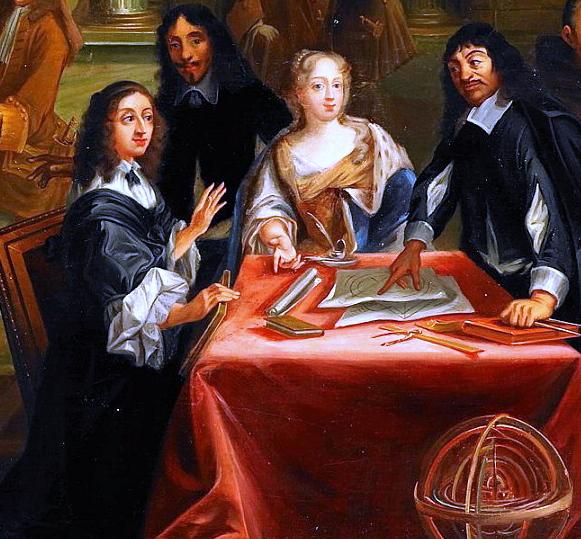 René Descartes i samtal med Sveriges drottning Kristina